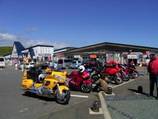 襟裳岬の駐車場