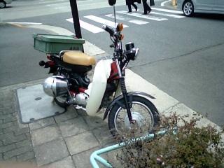 郵政バイク改